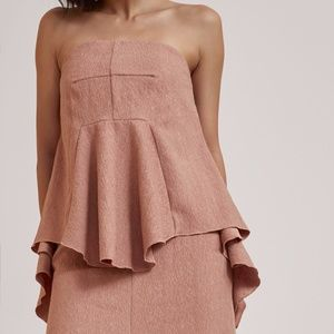 C/MEO Collective Biscuit I Dream It Bustier Top